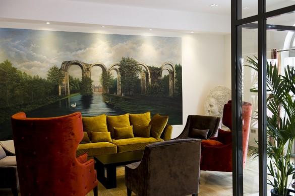 Castel maintenon hotel ristorante spa - hall
