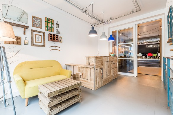 Be coworking - interior