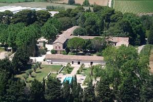 Domaine du Grand Malherbes - view drone