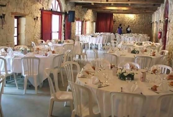 Castillo Boisverdun - sala de banquetes