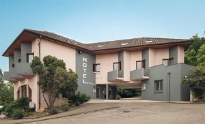 Best Western Bridge Hotel Lyon Este - Frente