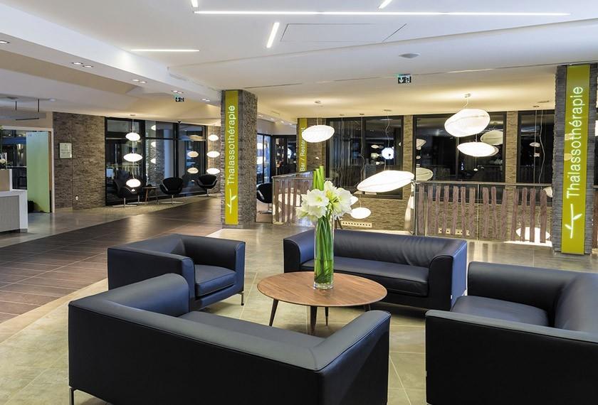 banhos Hotel Thalazur Cabourg Cabourg - de lobby