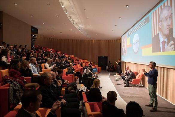 Cloud business center - the hub auditorium