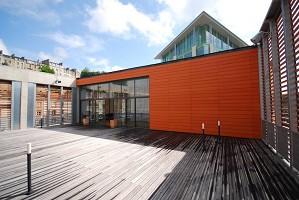 Centro de Conferências em Poitiers - Terraço