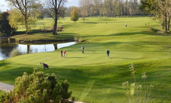 Domaine de charmeil - golf hotel grenoble - campo