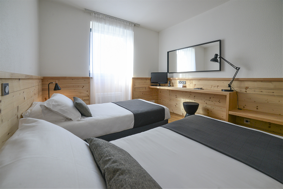 Domaine de charmeil - Golfhotel grenoble - Schlafzimmer