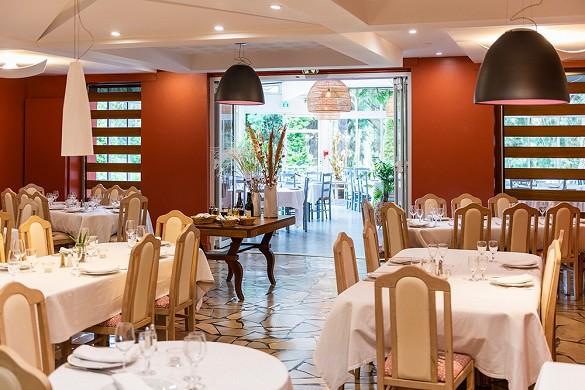 Domaine la gentilhommiere - sala de restaurante