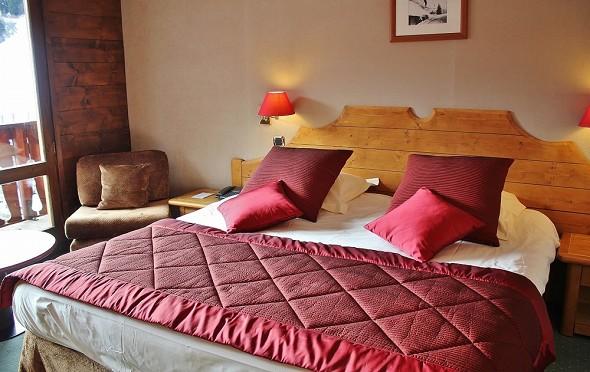 Hotel Mont Vallon - Zimmer