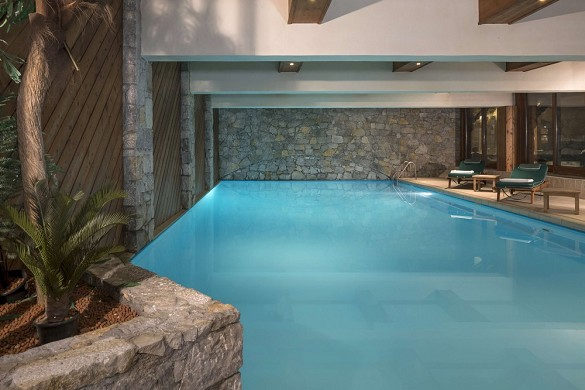 Hotel Mont Vallon - Schwimmbad