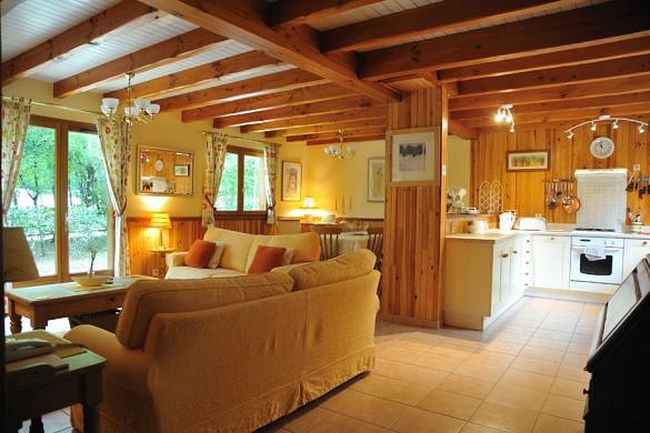 Souillac golf country club - soggiorno in chalet