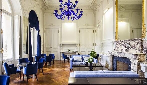 Ferrières Castle - lounge