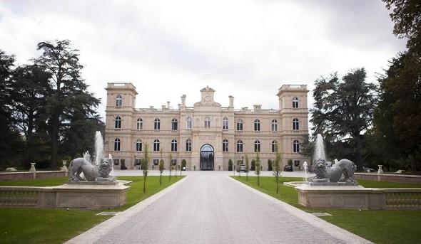 Ferrières Castle - park