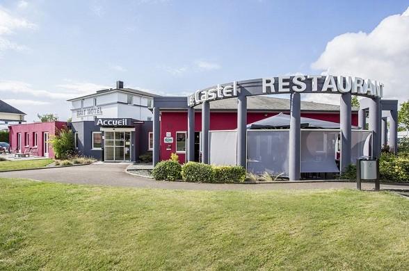 Brit hotel rennes, le castel - l'esterno dell'hotel