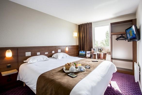 Brit hotel rennes, le castel - camera doppia