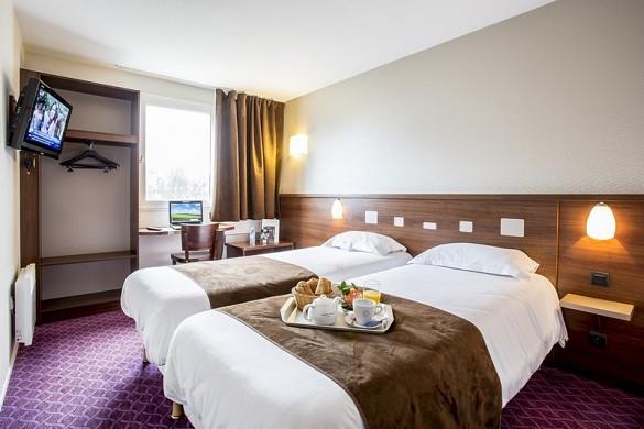 Brit hotel rennes, il castel - camera doppia