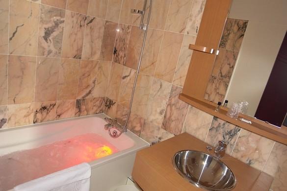 Brit hotel rennes, il castel - bagno