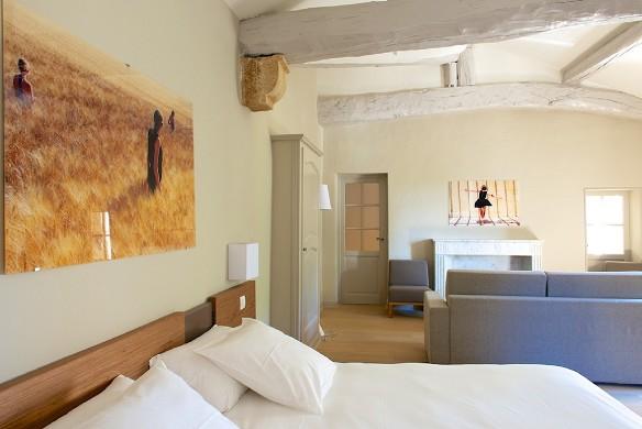 Bégude saint-pierre - eine der Suiten für Wohnseminare