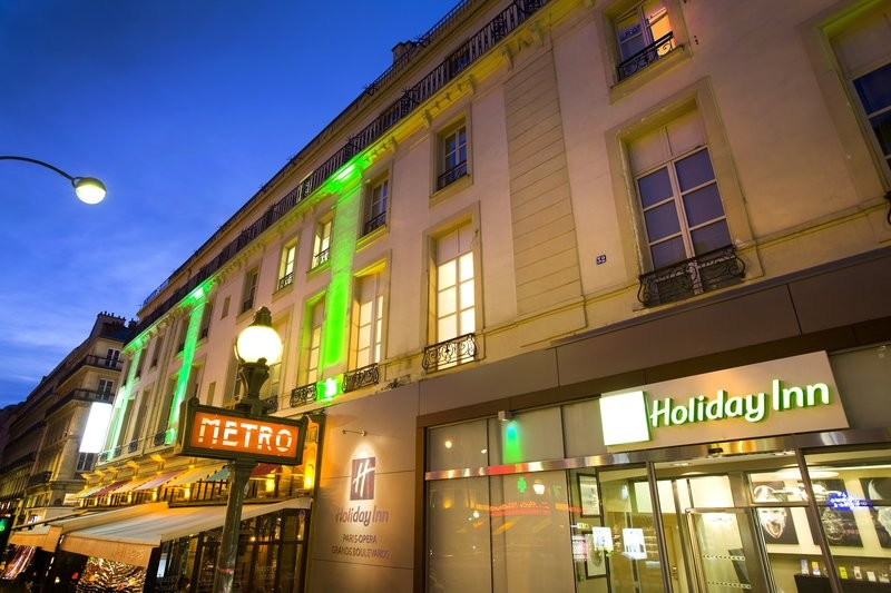 Holiday inn paris opera - boulevards - evening
