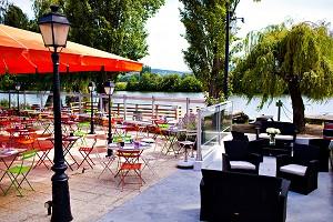Sala seminari: Ristorante dell'Hotel Les Canisses -