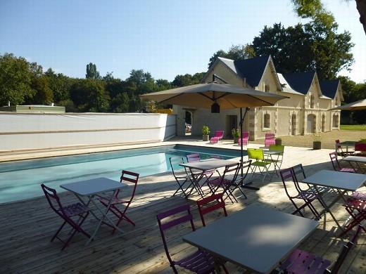 Castello di sbadiglio - piscina
