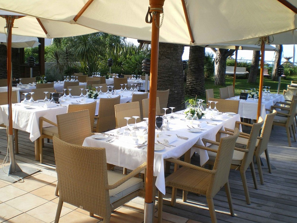 Hotel de la Roya - terrazza