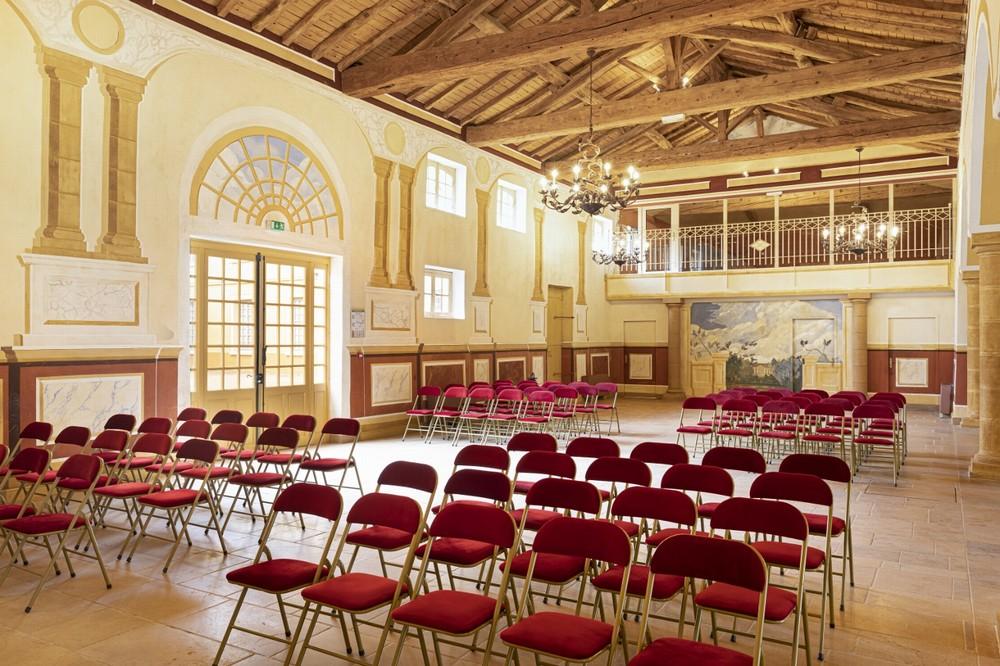 Chateau de chavagneux - sala de seminarios