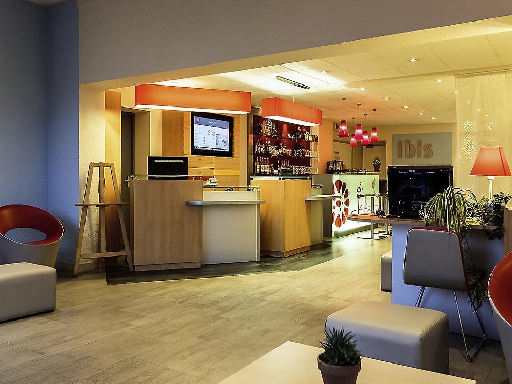 Hotel Ibis Clermont-Sud Herbet bivio - hall
