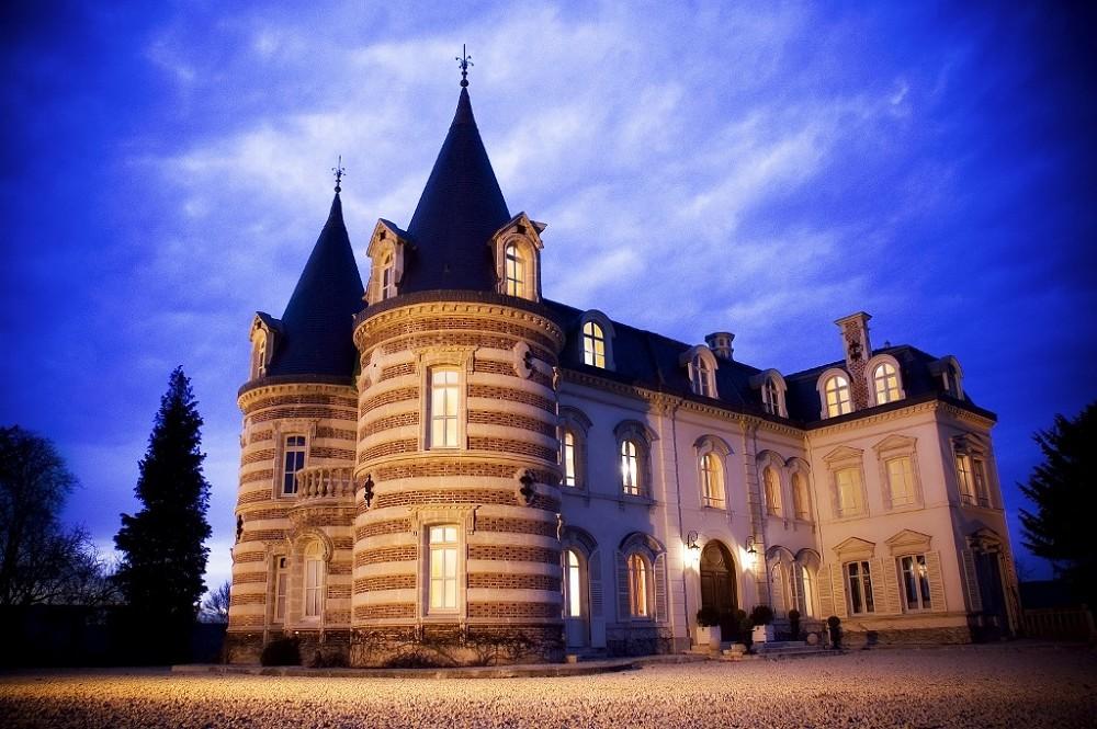 Castello Lafond Contessa - vista notturna