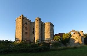 Castle Chazeron - Front