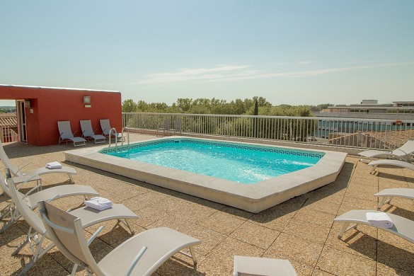 Best Western Atrium Arles - pool