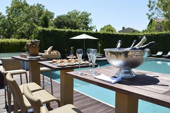 Immagine hotel - terrazza della piscina