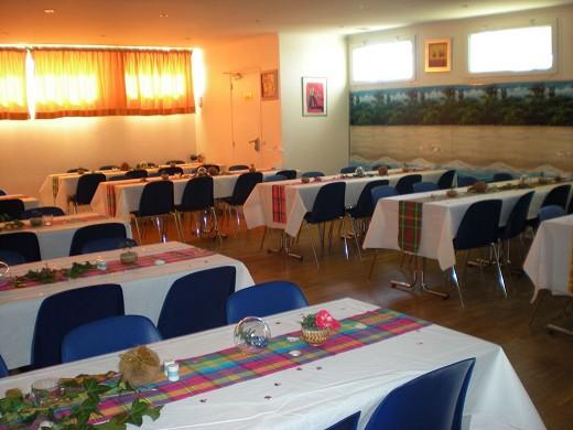 Centro de configuración de banquetes