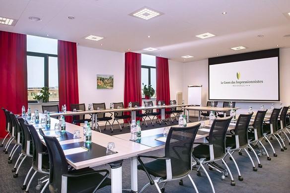 Impresionistas verdes - sala de seminario sobre 70m²