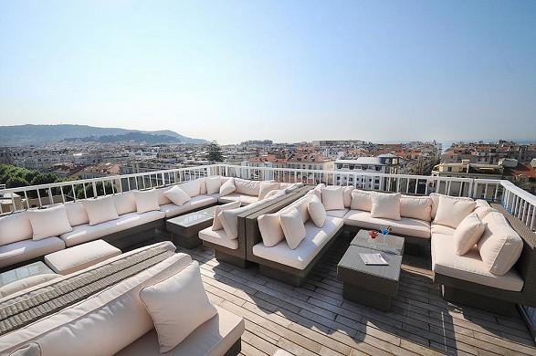 Espléndido hotel y spa - terraza en la azotea