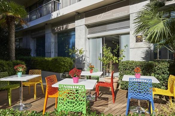 Espléndido hotel y spa - terraza.