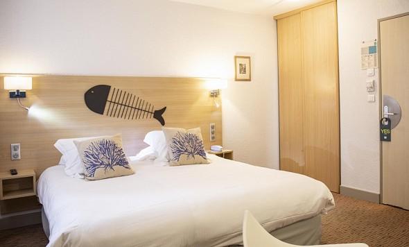 Hotel port marine - comfort room