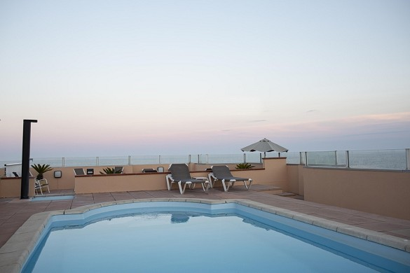 Hotel port marine - swimming pool on the rooftop