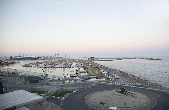Hotel port marine - view from the rooftop