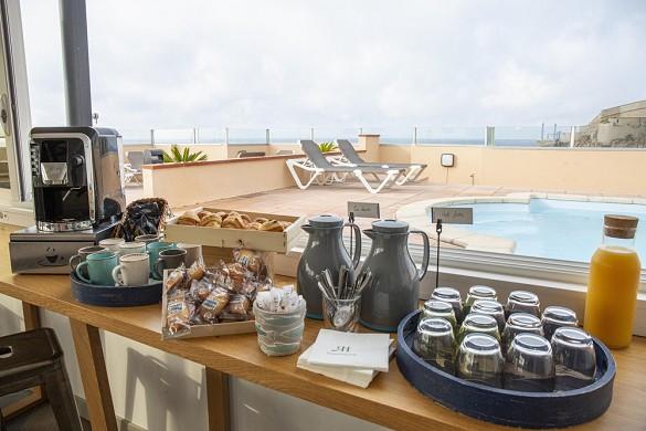 Hotel port marine - seminar welcome break