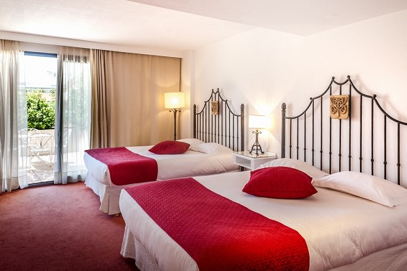 Gran hotel de Avignon - habitación doble