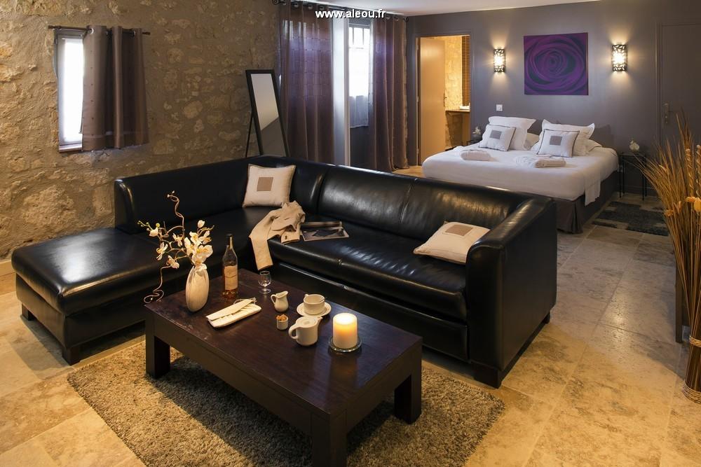 Hostel Larressingle - salotto