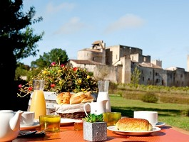 Auberge de Larressingle - Breakfast