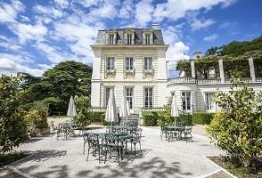 Château de Rochecotte - Terraço