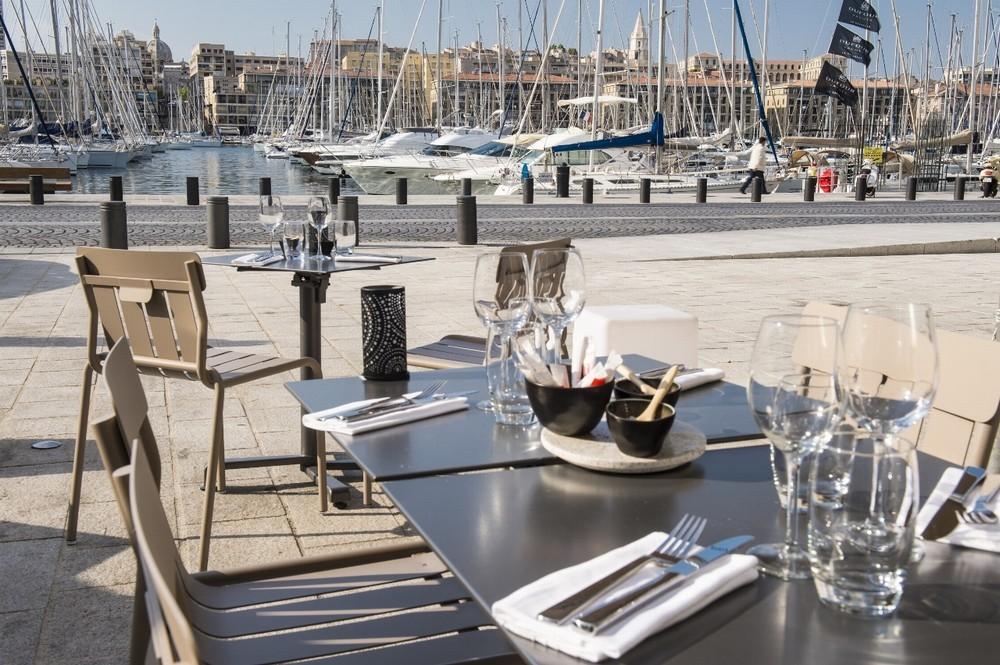 Radisson Blu Hotel Marseille Vieux Port - Terraza