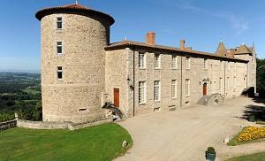 Château de Vollore - Front