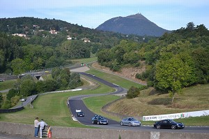 Charade Circuit - View from the track