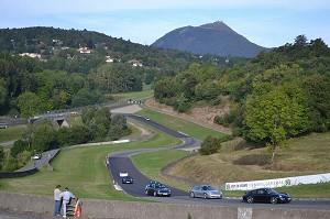 Circuit de Charade - Blick von der Spur
