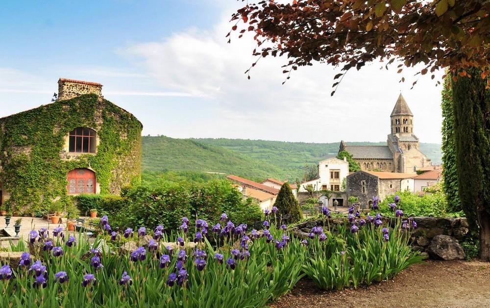 Castello Reale di Saint Saturnin - Giardino