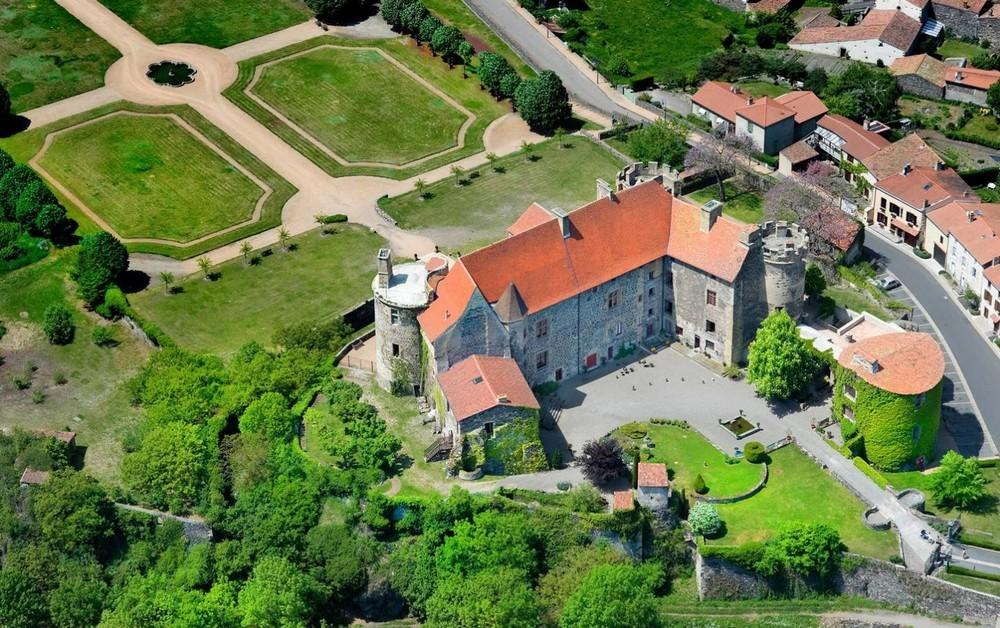 Castello Reale di Saint Saturnin - vista dall'alto
