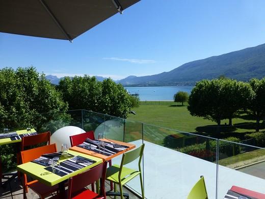 Best western aquakub - vista a la terraza kubix